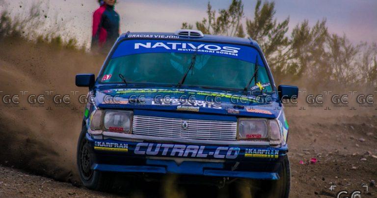 Ávila y Cortes firmes en el Rally Regional
