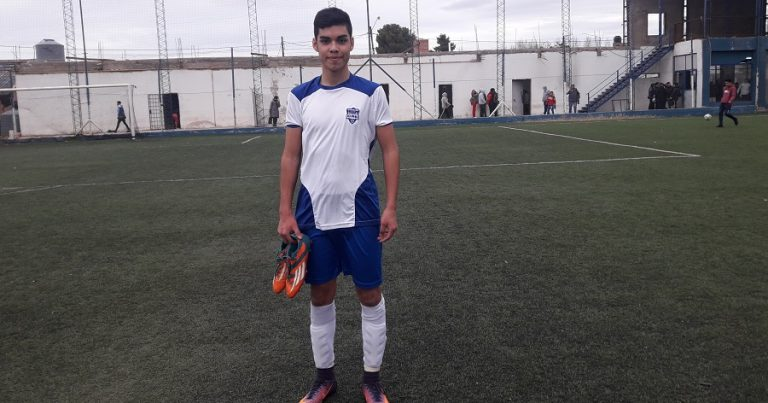 Pura garra: Agustín Cañupan de Rivadavia