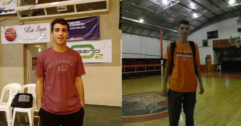 Funes y Pérez a la Selección Neuquina