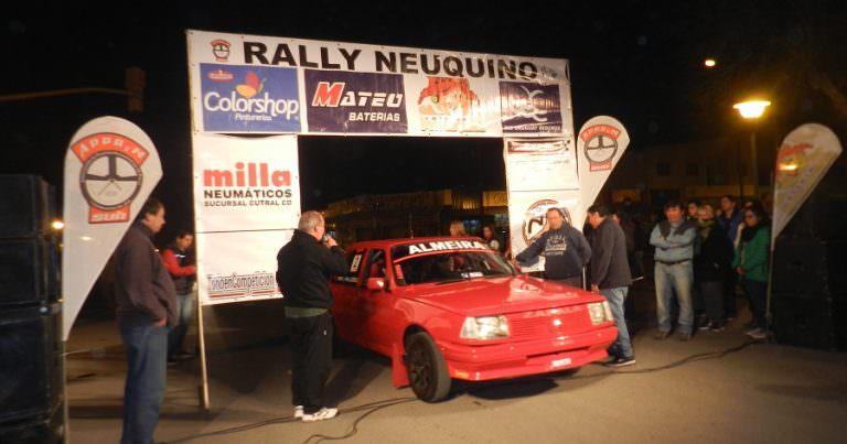 Rally Neuquino: 75 autos en la fecha coronación