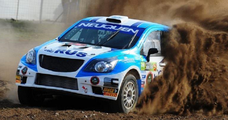 El Rally Argentino se pone caliente en Malargüe