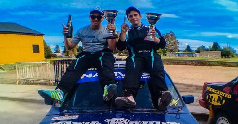 Ávila y Cortes campeones del Rally Regional