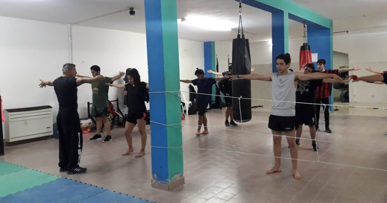 La Academia de Kick Boxing se muda