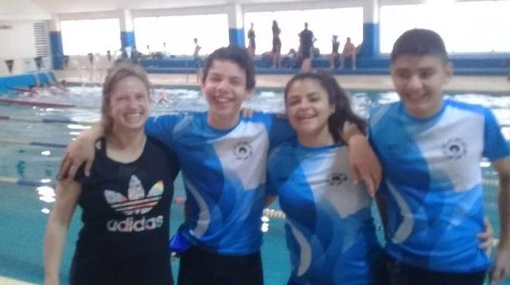 Santiago nadará por Neuquén en los Evita