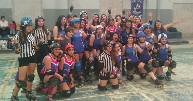 Roller Derby: Las Cruellas derrotaron a Malditas X