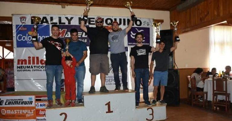 Rally Neuquino: podios para la comarca
