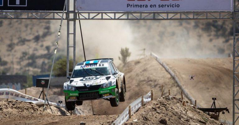 Cancio cerró el año con un podio en Chile