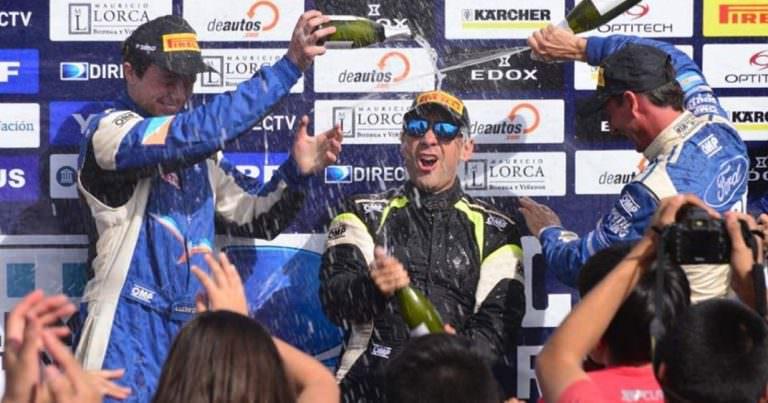 Ale Cancio se despidió del Rally Argentino