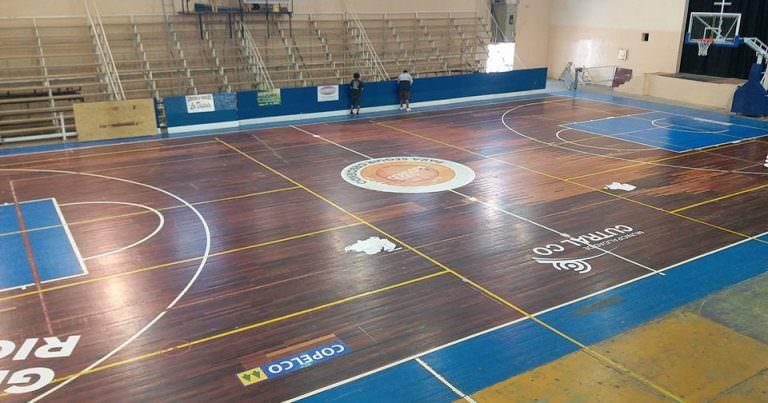El gimnasio municipal de Cutral Co tendrá piso nuevo