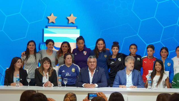 Argentina se postuló como sede para el mundial femenino 2021, la Libertadores Femenina 2021 y Copa América Femenina 2022