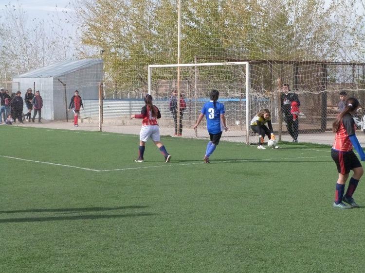 Se jugó la fecha 4 del fútbol femenino 8