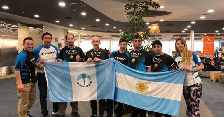 Kenpo: Wollman junto a la delegación Argentina rumbo a EE.UU