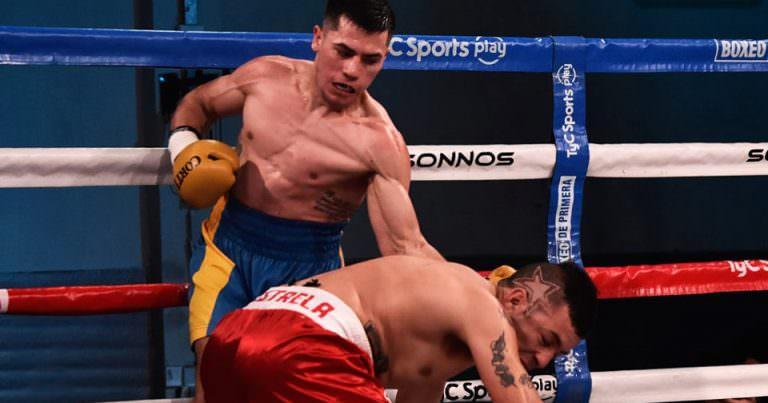 Damián Rojas tiene otra velada de box en Buenos Aires