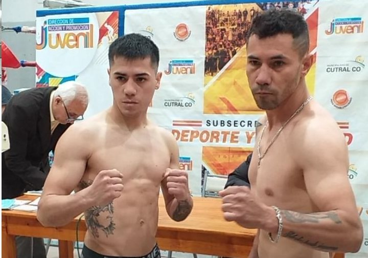 Chiva Rojas dio el peso para pelear en Cutral Co