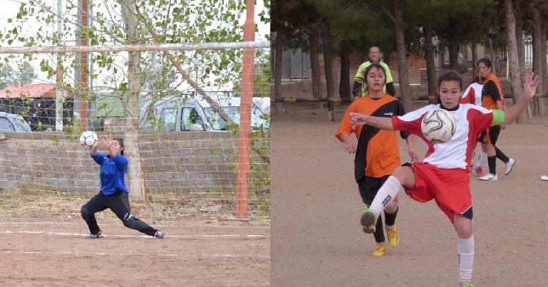 Fiama y Agustina entre las preseleccionadas para el fútbol neuquino en la Araucanía