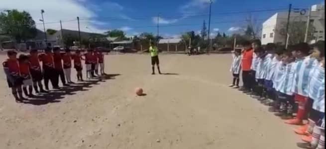 Terror en Melipal. Partido de fútbol infantil suspendido por un tiroteo