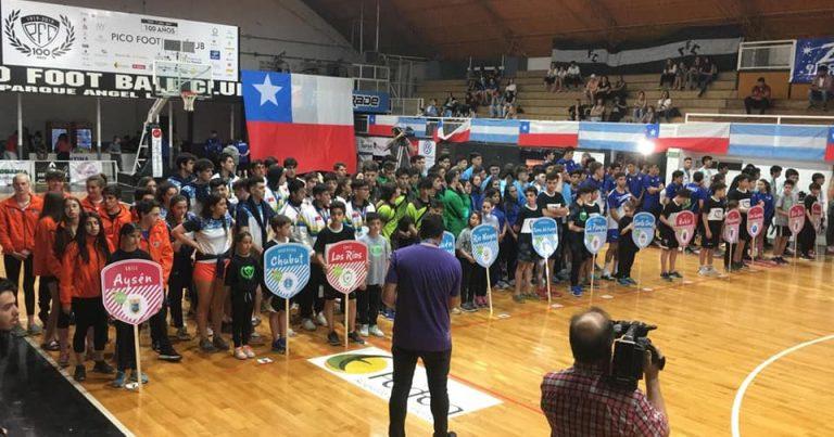 Comienzan los Juegos Binacionales de la Araucanía en La Pampa