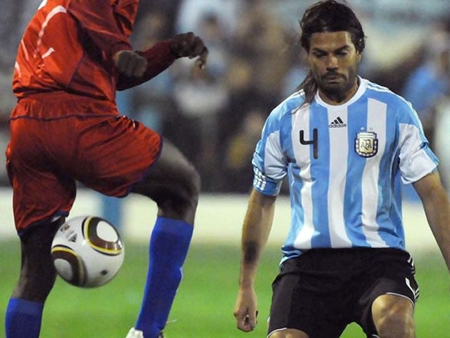 """El """"Chino"""" Garce recordó su visita a Cutral Co junto a la selección"""