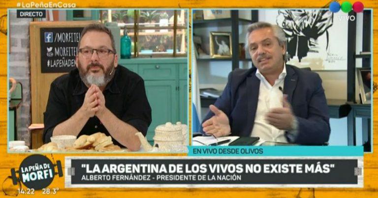 """Alberto Fernández: """"El fútbol puede esperar """""""
