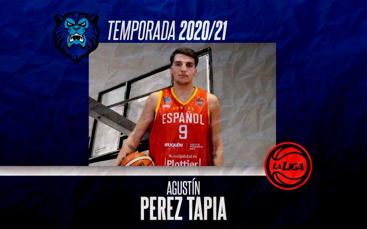 Agustín Pérez Tapia, ex Pérfora, jugará la Liga Nacional